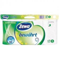 Zewa Toilettenpapier 3-lagig 8X150 Blatt