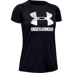 Under Armour Tech Big Logo Solid - T-Shirt - Kinder Black