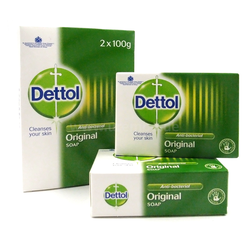 Dettol Anti-Bacterial Original Soap 2 x 100g Seife