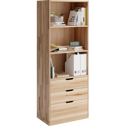 Home affaire Aktenschrank Plus aus massiver Kernbuche