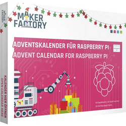 MAKERFACTORY Adventskalender für Raspberry Pi Adventskalender ab 14 Jahre