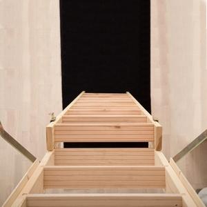Dolle Leiterverlängung bis 318cm für Flachdachausstieg mit Bodentreppe clickFIX® thermo als Zubehör