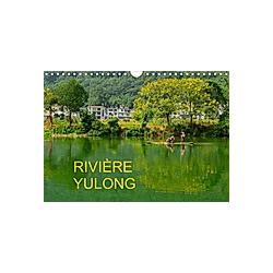 RIVIÈRE YULONG (Calendrier mural 2021 DIN A4 horizontal)