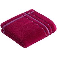 Handtuch (50x100cm) cranberry