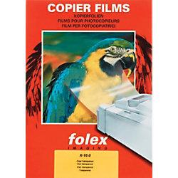 Folex Overhead-Folien X-10.0 DIN A4 Transparent 100 Blatt