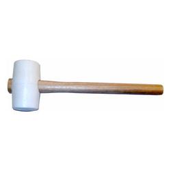 Fliesen-Schonhammer  Ø 54 x 85 mm, mit Stiel
