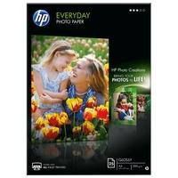 HP Fotopapier Weiß Halb-Glanz