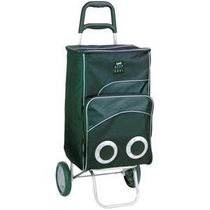 Thermo Einkaufs Trolley Wagen Kühl Box Shopping Tasche Griff 12 V Netz Tasche Harms 504329