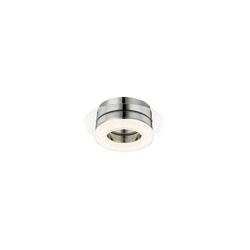 GLOBO LEUCHTEN Wandleuchte GLOBO Spikur LED Wandlampe Wandleuchte Kristalle Küchen-Lampe 49223-6