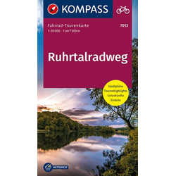 KV FTK 7013 Ruhrtalradweg 1:50 000