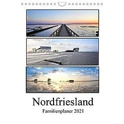 Nordfriesland - Familienplaner (Wandkalender 2021 DIN A4 hoch)
