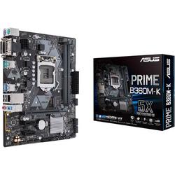 Asus PRIME B360M-K Mainboard Sockel Intel® 1151v2 Formfaktor Micro-ATX Mainboard-Chipsatz Intel® B