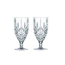Nachtmann Glas Noblesse Eisbecher-Set 2tlg., Kristallglas