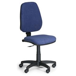 Bürostuhl comfort pk, ohne armlehnen, blau