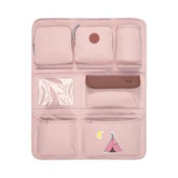 Lässig Auto-Rückenlehnentasche Auto Rückenlehnentasche 4kids Wrap-to-Go, Mushroom rosa