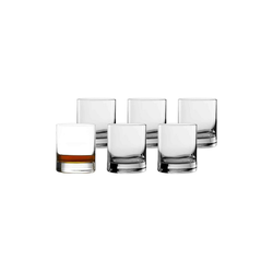 Stölzle Whiskyglas NEW YORK BAR Whisky D.O.F. 420 ml 6er Set (6-tlg), Glas