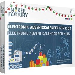MAKERFACTORY Adventskalender Elektronik, Experimente ab 8 Jahre