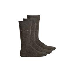 Gant Kurzsocken Herren Socken, 3er Pack - Soft Cotton Socks, grau