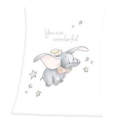 HERDING Soft-Peach Decke Disney´s Dumbo 75x100 cm