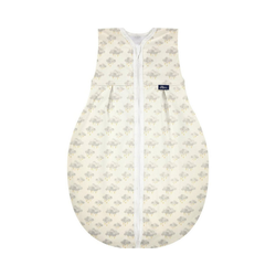 Alvi® Babyschlafsack Kugelschlafsack Molton Star Rain, 90 cm 90