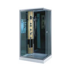 Duschkabine mit Hydromassagesäule NEU Modell Portofino 100 x 70cm