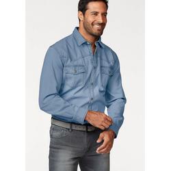 Arizona Jeanshemd Western Stil blau 43/44 (XL)