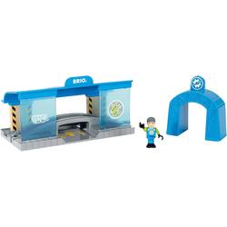 BRIO® Spielzeug-Eisenbahn Smart Tech Eisenbahn-Werkstatt
