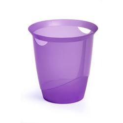 Papierkorb Trend lila transluzent