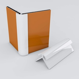 Duschrückwand-Profilsystem Außeneckprofil Aluprofil Aluminiumprofil für 3mm Duschrückwand Küchenspiegel 300cm weiss