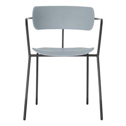 4er-Set Stuhl »Bistro« blau, Paperflow, 45 cm