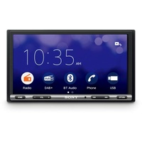 Sony XAV3550ANT Moniceiver Anschluss für Rückfahrkamera, Bluetooth®-Freisprecheinrichtung, DAB+ Tuner, Touchscreen, Antenne Autoradio 2 DIN (Doppel-DIN), 55 Watt