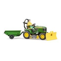 Bruder® Spielzeug-Landmaschine John Deere Aufsitzrasenmäher