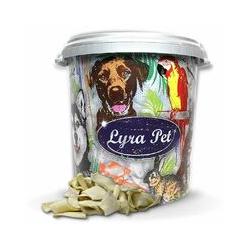 5 kg Lyra Pet® Kauchips in 30 L Tonne