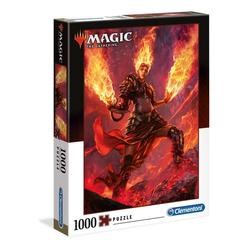 Clementoni® Puzzle 39561 Magic The Gathering Feuer 1000 Teile Puzzle, 1000 Puzzleteile bunt