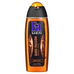 Fa Men 2in1 Duschgel Dark Passion aus Sandelholz maskuliner Duft 250ml