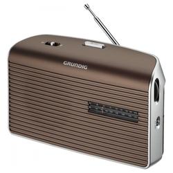 Grundig Music 60 Kofferradio UKW/MW Tuner Netz-/Batteriebetrieb UKW-Radio (Tuner für UKW/MW)