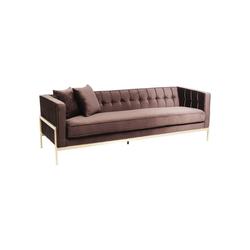 KARE Sofa Sofa Loft Braun 3Sitzer