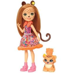 Mattel Enchantimals Gepardenmädchen Cherish Cheetah Puppe FJJ20