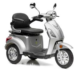 Nova Motors Bendi silber Elektromobil Seniorenmobil - Standard - 20 km/h