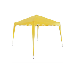 Deuba Pavillon Capri, Wasserdicht gelb 300 cm x 300 cm x 250 cm