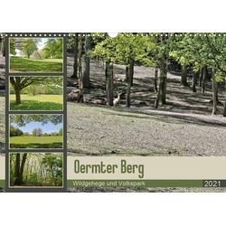 Oermter Berg - Wildgehege und Volkspark (Wandkalender 2021 DIN A3 quer)