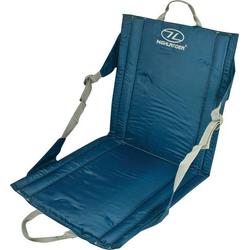 Highlander Sitzmatte mit Rückenlehne SM026 Outdoor Kissen Blau