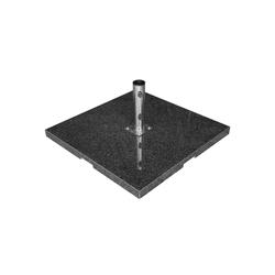 anndora Schirmständer Sonnenschirmständer Granit - 90kg dunkelgrau