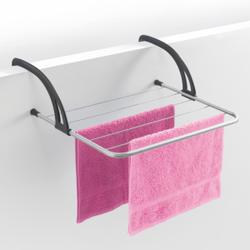 Metaltex Favonio Heizungs-und Balkonwäschestrockner, Wäscheständer aus LDPE für Heizkörper, Türen oder Balkon geeignet, Maße: 51 x 38 cm