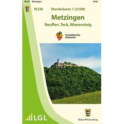 Metzingen 1 : 25 000