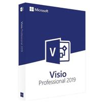 Microsoft Visio Professional 2019 ESD DE/EN Win