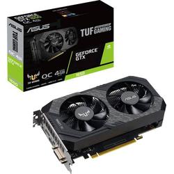 Asus Grafikkarte Nvidia GeForce GTX1650 Gaming Overclocked 4GB GDDR5-RAM PCIe x16 HDMI®, DVI, Displ