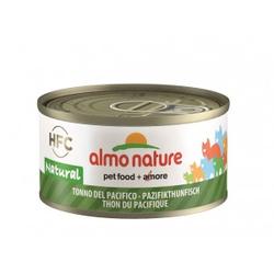 Almo Nature Natural Tonijn uit de Stille Oceaan 70 gr  Per 24 (Natural)