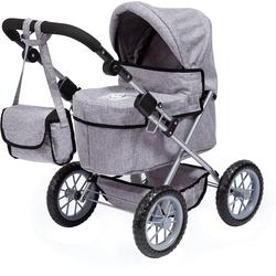 Bayer Puppenwagen Puppenwagen Trendy, blau grau