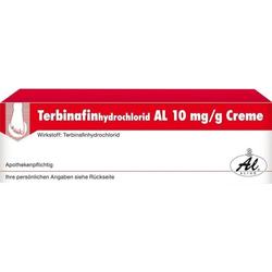 Terbinafinhydrochlorid AL 10mg/g Creme
